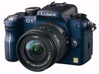 BLUE Panasonic Lumix DMC-G1