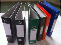 Set of A4 size folders