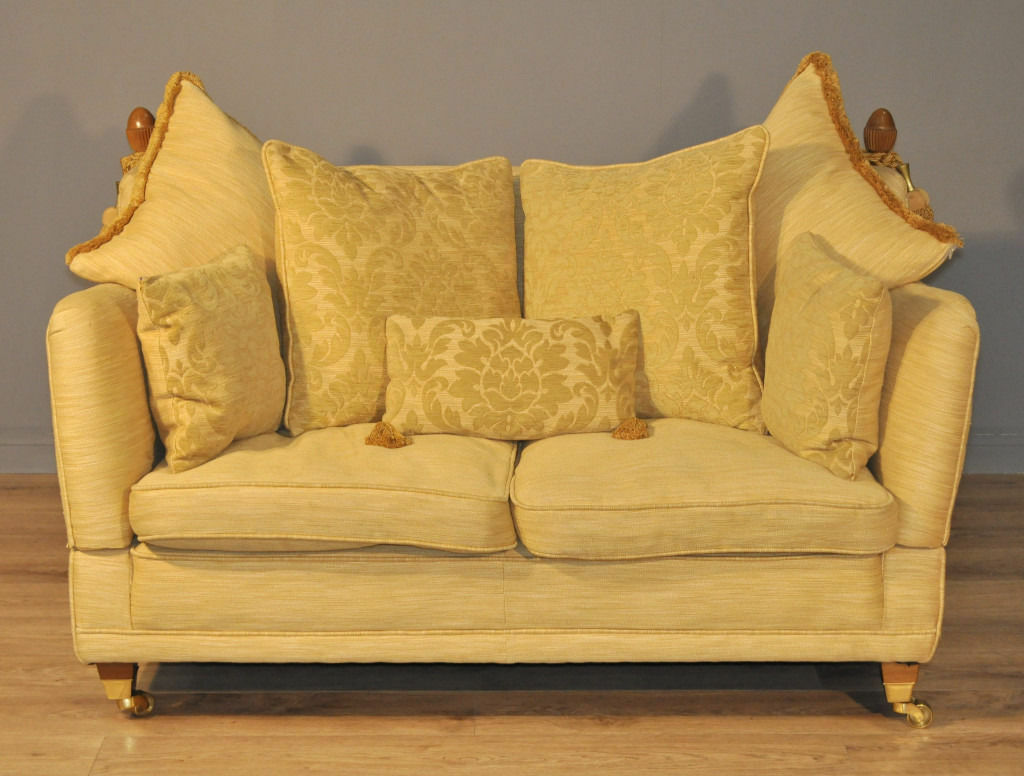 Attractive Large Dfs Knole Drop End Two Seat Sofa Couch
