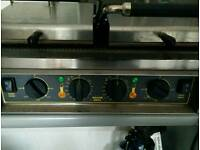 Roller grill double contact panini toastie maker