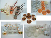 78 piece Bundle of cups, saucers, coffee pots etc