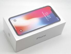 **SEALED** 64GB IPHONE X, SIMFREE ALL NETWORKS, BRAND NEW IPHONE 10, INCLUDES 1 YEAR APPLE WARRANTY
