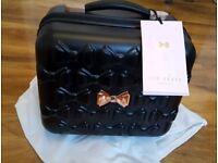 Ted Baker vanity case, travel bag New