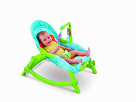 Fisher Price 3 in 1 Baby rocker, infant to toddler