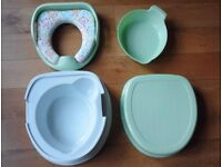 Potty, babylo soft potty trainer, 2 available, £10 each Excellent condition