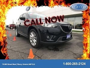 2015 Mazda CX-5 GT, AWD, Nav, Moonroof, Leather!!!