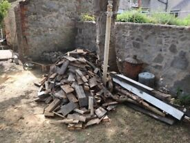 fire wood for £20 various soft and hard wood. please not some timber have nails in them,