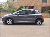 2009 Peugeot 207 Sport, 1.4 Petrol, Grey Colour, Full MOT History, AC, Low Mileage: 48k