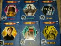 DOCTOR WHO X 6 BOOKS
