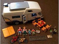 Playmobil. Summer fun. 4859 - Camper van playset with figures & accessories - Immaculate. Worksop
