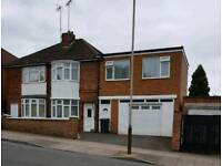 4 bed extended Semi detached house