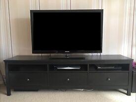 Ikea Hemnes TV Bench - Black/Brown - Good Condition - £50