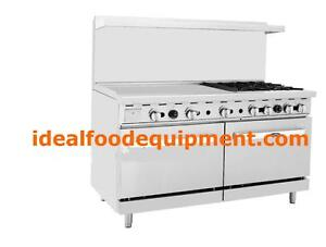 Restaurnt gas ranges - brand new - YES THE PRICES ARE REAL!!!!!