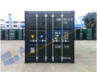 New build 20ft shipping container Suffolk - full spec (can also hire out).