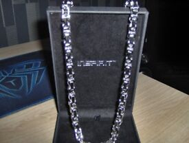 stainless steel chunky neckless open to offers