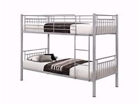 GET YOUR ORDER TODAY*New Single Bunk Bed Metal SEMI Orthopaedic Dual Sided-Mattress