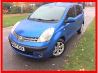 2007 -Nissan Note 1.5 dCi SVE 5dr -- Diesel -- Low Mileage -- Hpi clear -- alternate4 corolla