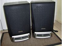 Aiwa Stereo Speakers - SX ZL50 Black / Silver