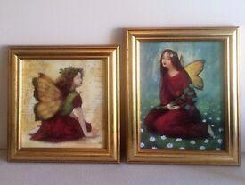 'Autumn Fairy' and 'Summer Fairy' Prints by Stephen Mackey