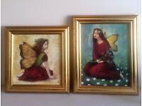 'Autumn Fairy' and 'Summer Fairy' Prints by Stephen Mackey