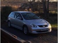 Honda Civic 1.7 Cdti Breaking - all parts available!