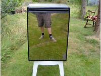 12v mirrored fridge with freezer for boats