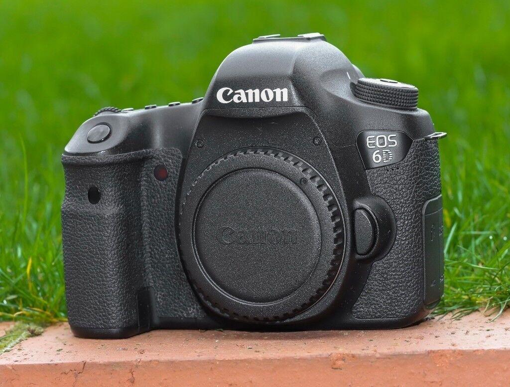 Canon EOS 6D Full-Frame Digital SLR Camera Body | in Luton ...