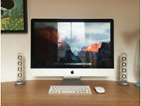 "27"" Apple iMac. Mid 2011, 3.1GHz Intel Core i5 processor, 4GB memory, El Capitan OSX. Boxed."