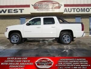 2012 Chevrolet Avalanche 1500 LTZ Z71 4X4, LEATHER, DVD, NAV, SU