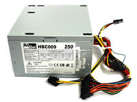 HBC009 AcBel 250W ATX Desktop Power Supply PSU FROM Asus K30AD PC