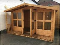We make custom sheds and summerhouses, any size made