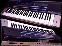 Casio Casiotone CT-6000 keyboard with hard case