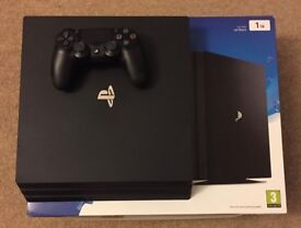 Sony Playstation 4 Pro 1TB PS4 PS4Pro +8 Games