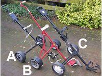Golf Pull Trolley Cart - Choice of 3 (2x Senior Male £5/£20, 1x Ladies/Junior £20)