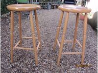 Pair of Kitchen High Stools