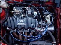 Ford CVH weber dcoe twin 40s