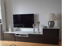 IKEA Besta TV and storage unit