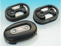 Harley Davidson Air Cleaner Cover with High Performance Air Filters.