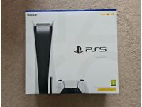 PS5 disc console brand new unopened