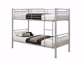 🌞🌞SAME DAY FAST DELIVERY🌞🌞🌞SINGLE METAL BUNK BED🌞🌞BRAND NEW METAL BUNK BED🌞🌞🌞