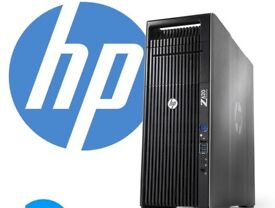 HP Z620 Workstation Xeon E5 1620 3.6GHz 32GB 1TB +2GB DDR3 HDMI GRAPHICS