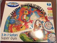 Playgro 3 in 1 Safari super gym.