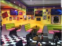 50 seater Restaurant/ Diner for sale (A3 license shop)