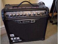 Line 6 Spider 3 - 15 watt guitar amp with effects