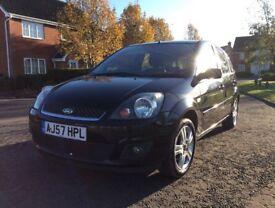 Ford Fiesta 1.4 TDCI 5dr climate Black £30 tax