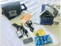 SONY HANDYCAM DCR-HC24E CAMCORDER BOXED MINI DV DIGITAL TAPE VIDEO CAMERA WITH TAPES