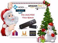 ⚽FULLY LOADED Amazon Fire TV Stick Alexa Voice Remote Kodi 16.1 MOBDRO⚽