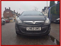 2013 Vauxhall Corsa 1.4 i 16v SXi -- 5 Doors -- Manual -- Low 30000 Miles -- Black -- new shape