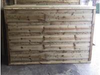 Pressure Treated Wayneylap Wooden Fence Panels🌳