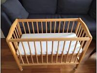 Baby cot/crib (alternative to Moses basket)